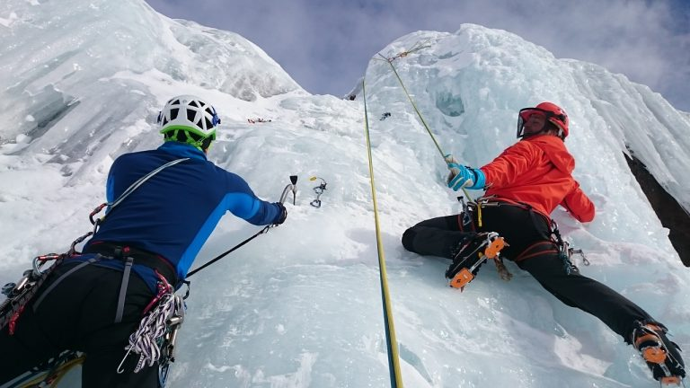 Extreme Sports Ice Climbing. Discover more on Adventure Hub Ireland