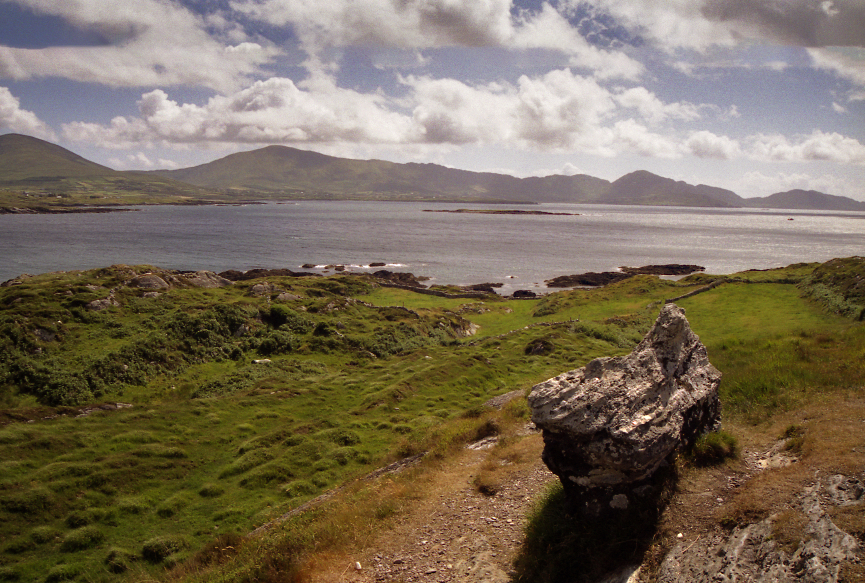Cailleach Beara on the Beara Peninsula in West Cork, ireland