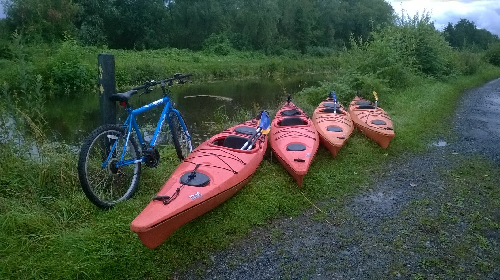 The Grand Canal Way in County Offaly
